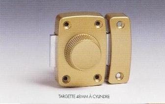 VERROU TARGETTE L48mm