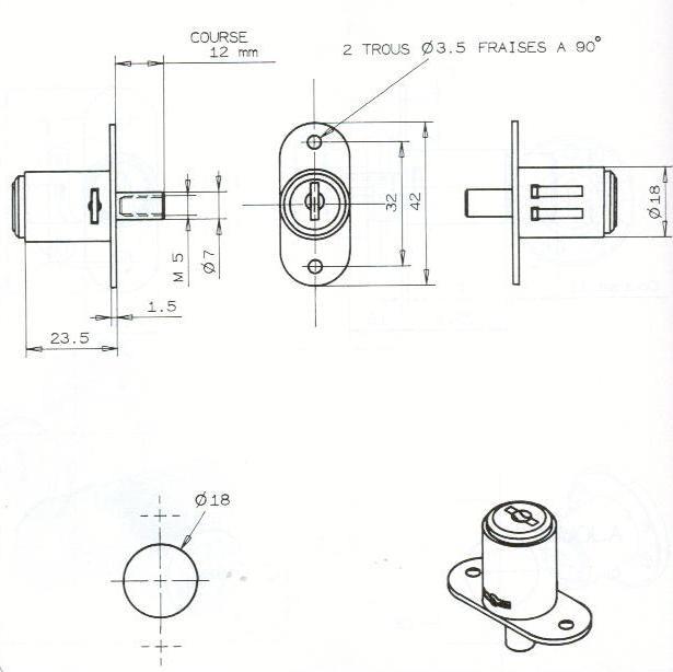 POUSSOIR HL AUTO-BLOQUANT-2C