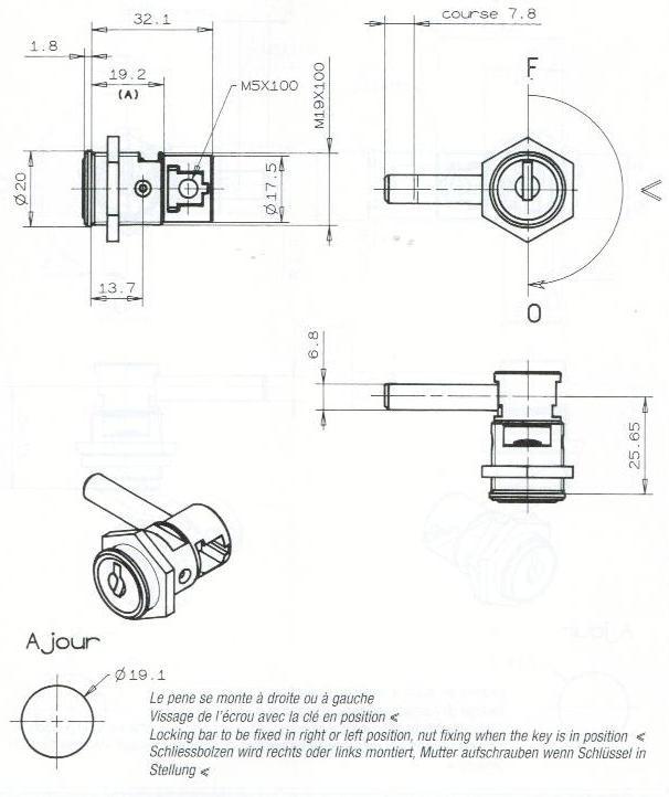 S.PENE COULISSANT-ECROU-2C
