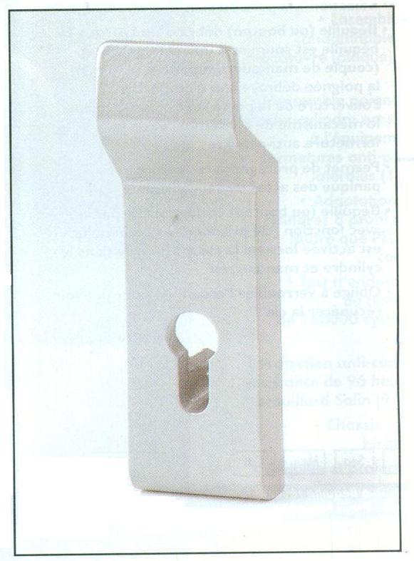 MODULE EXTERIEUR BOUTON FIXE ARGENT.EUR/AP89