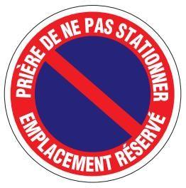 PANNEAUX ET DISQUES DE SIGNALISATION DIAMETRE 300mm PVC